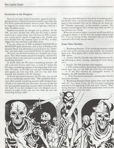 Dungeons & Dragons Rule Book (1991)