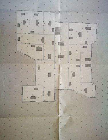 A1 Sized War Map - Map 4