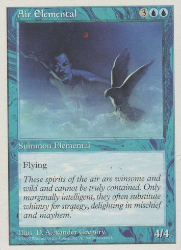 Air Elemental - Fourth Edition