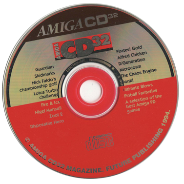 Amiga CD32 Magazine - CD-ROM - 1994