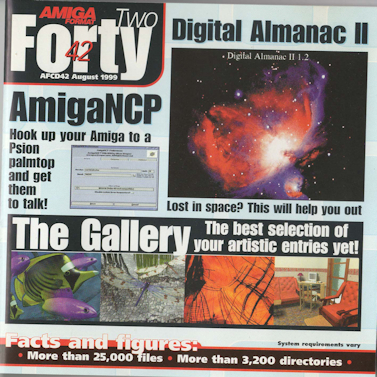 Amiga Format - CD-ROM - Forty Two