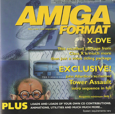 Amiga Format - CD-ROM - Issue 88