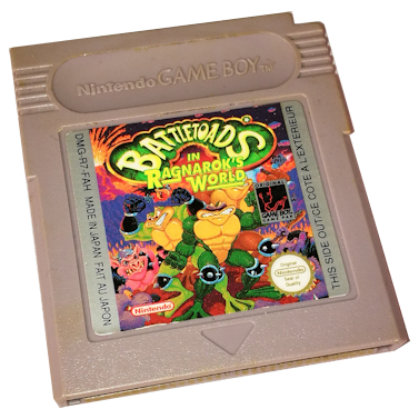 Battletoads in Ragnarok's world – Cartridge only