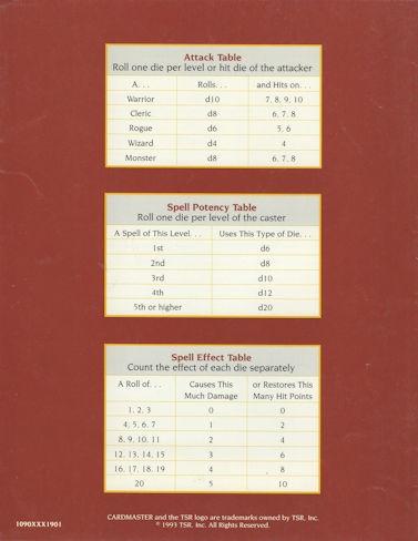 Cardmaster Adventure Design Deck Manual