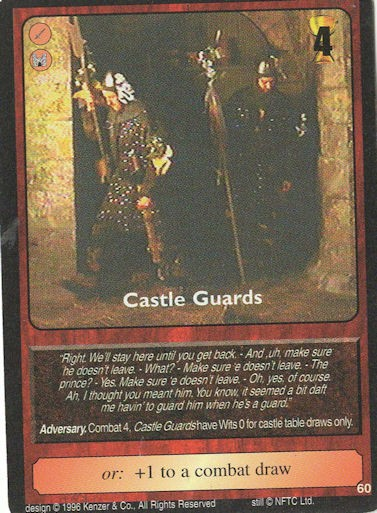 Castle Guards - Monty Python and the Holy Grail CCG
