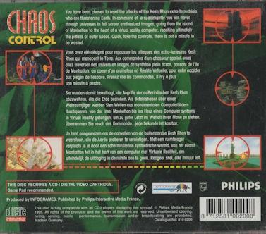 Chaos Control – CDi