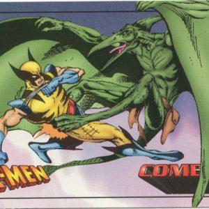 Combat: Wolverine vs. Sauron