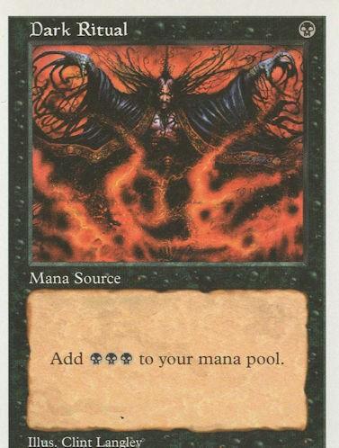 Dark Ritual - Fifth Edition
