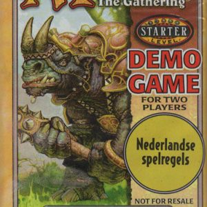 Magic the Gathering Demo Game for Two Players