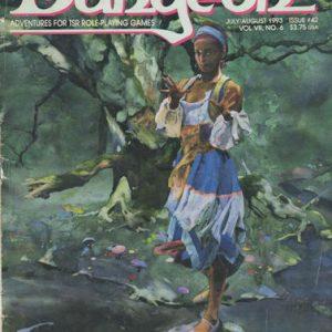 Dungeon Magazine July/August 1993 – Issue #42