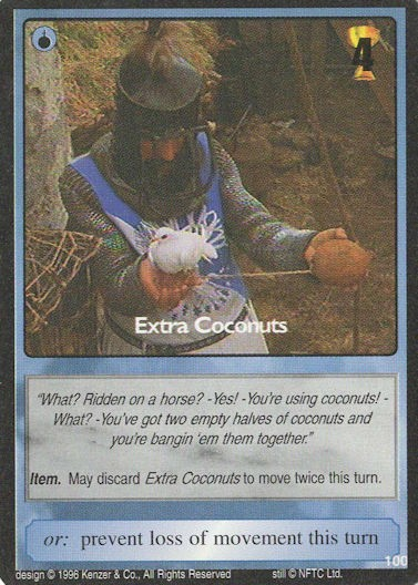 Extra Coconuts - Monty Python and the Holy Grail CCG