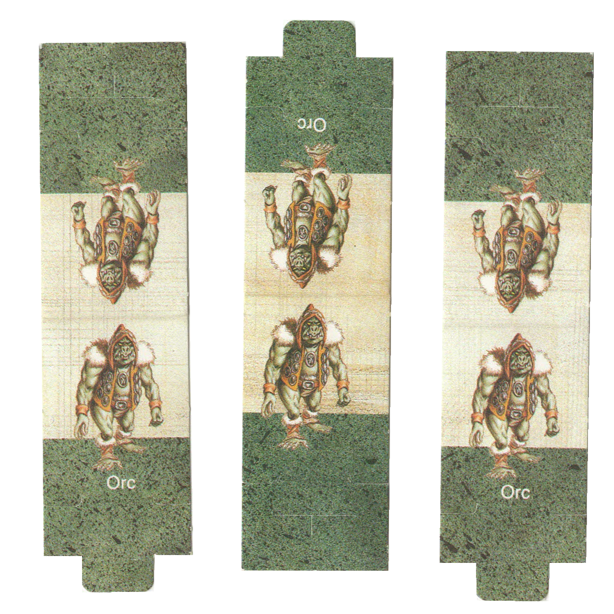 Four Foldable Orcs