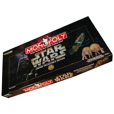 Star Wars Monopoly - Limited Edition (Used)