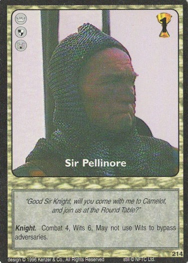Sir Pellinore - Monty Python and the Holy Grail CCG