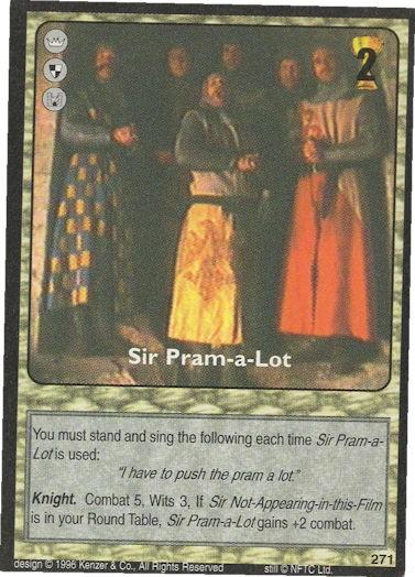 Sir Pram-a-Lot