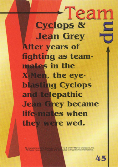 Team-Up: Cyclops & Jean Grey