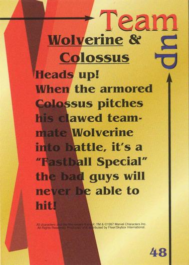 Team-up: Wolverine & Colossus