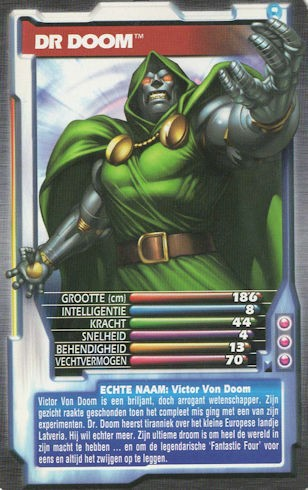 Top Trumps - Dr Doom