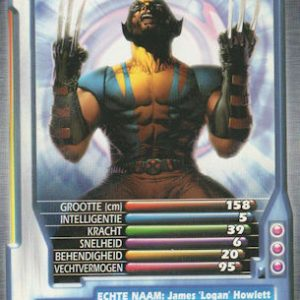 Top Trumps – Wolverine