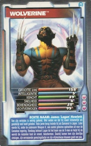 Top Trumps - Wolverine