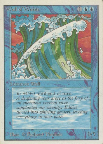 Wall of Water - Unlimited Edition