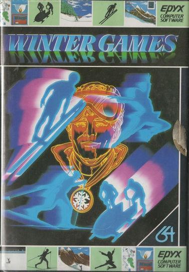 Winter Games - Commodore 64