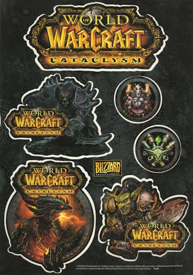World of Warcraft - Cataclysm - Stickers
