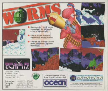 Worms CD32