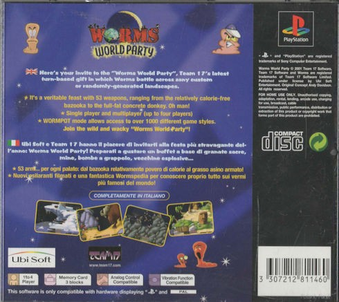 Worms World Party – PAL