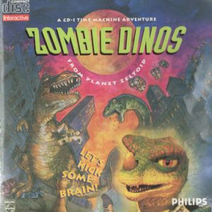 Zombie Dinos from Planet Zeltoid