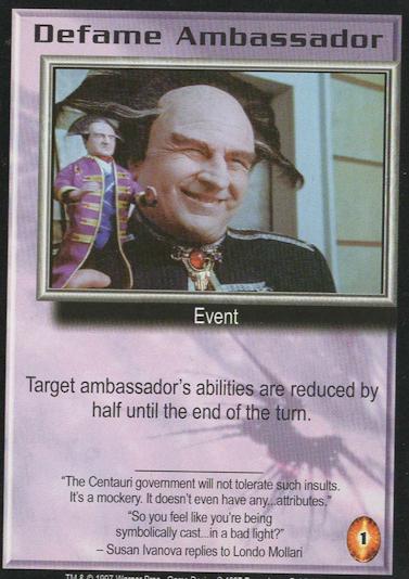 Defame Ambassador