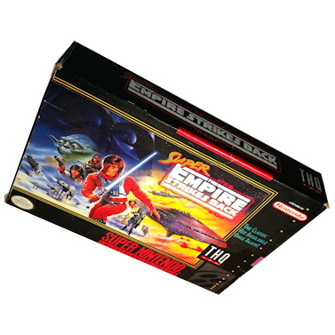 Super Star Wars: The Empire Strikes Back – SNES – USA