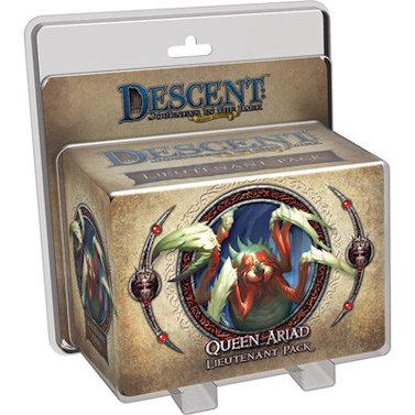 Descent Journeys in the Dark Queen Ariad Lieutenant Pack
