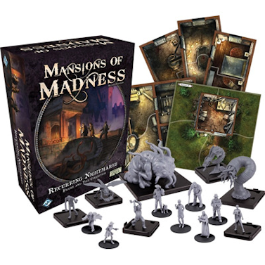 Mansions of Madness Second Edition – Figure & Tiles – Recurring Nightmares