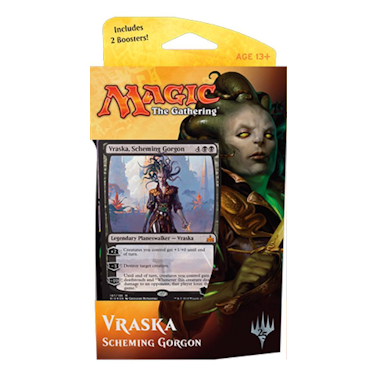 Rivals of Ixalan - Rivals of Ixalan Planeswalker Deck - Vraska Scheming Gorgon