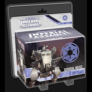 Star Wars Imperial Assault - Villain Pack - General Weiss