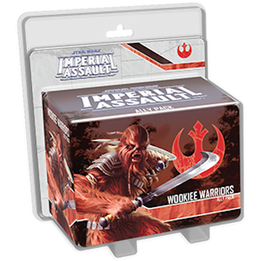 Star Wars Imperial Assault - Ally Pack - Wookiee Warriors