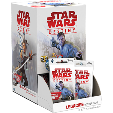 Star Wars Destiny Legacies Boosterbox