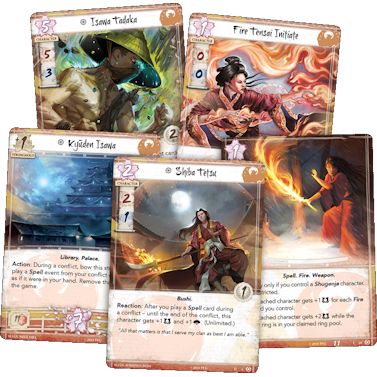 Legend Of The Five Rings Spell Cards