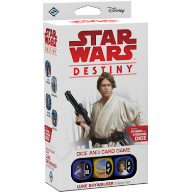 Star Wars Destiny Luke Skywalker Starter Set