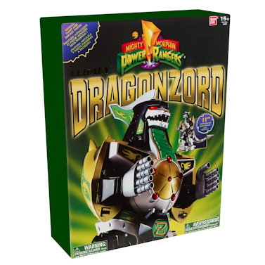 Power Rangers Figure Legacy Dragonzord 30 cm