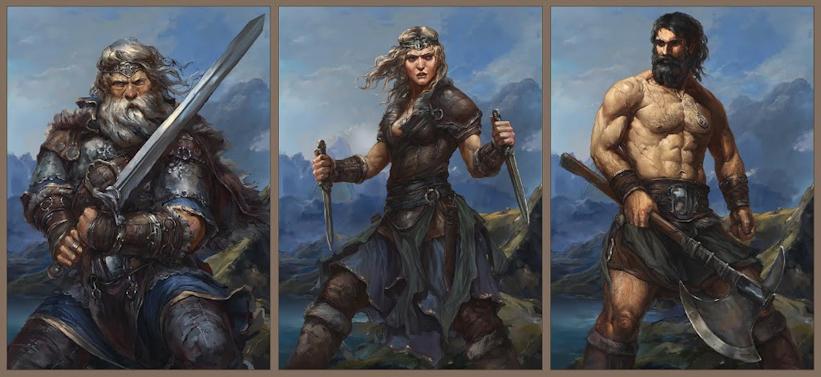Grey Fox Games announces upcoming kickstarter: Reavers of Midgard