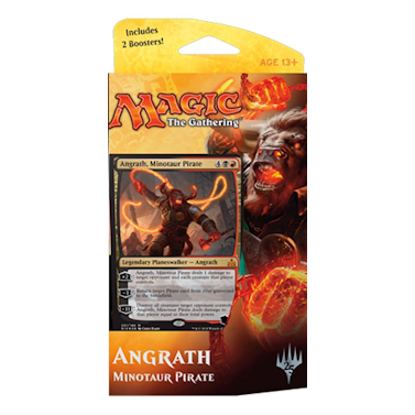 Rivals of Ixalan - Rivals of Ixalan Planeswalker Deck - Angrath Minotaur Pirate