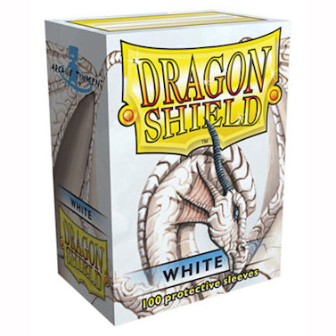 SLEEVES Dragon Shield - Standard - White