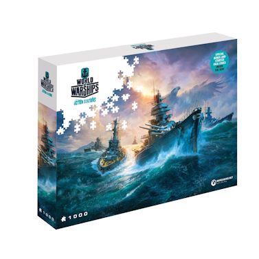World of Tanks Jigsaw Puzzle German Battleships (1000 pieces)