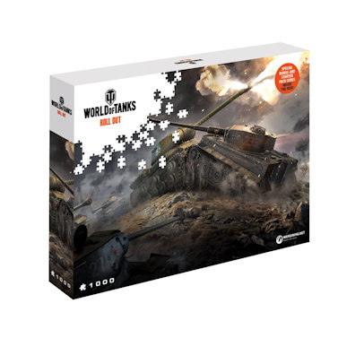 World of Tanks Jigsaw Puzzle East v West (1000 pieces)