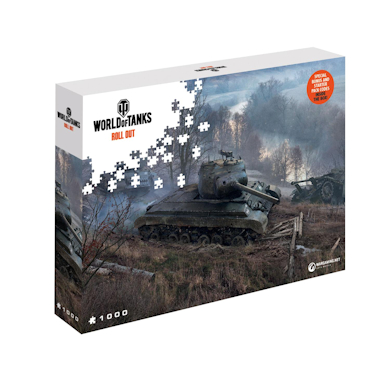 World of Tanks Jigsaw Puzzle On the Prowl (1000 pieces)