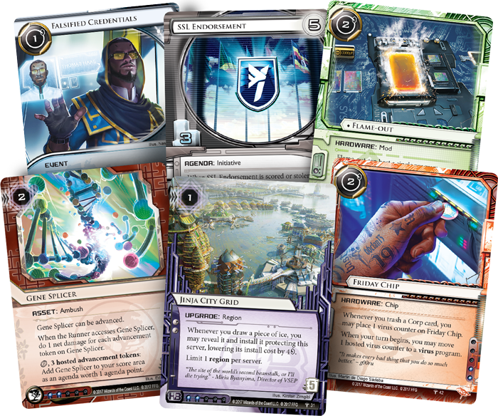 Android Netrunner LCG Sovereign Sight