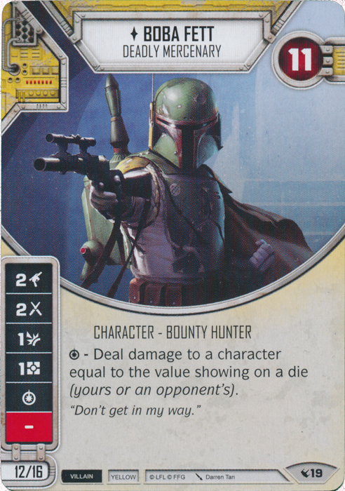 Boba Fett - Deadly Mercenary
