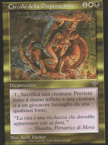 Circle of Despair (Italian)